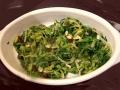 broccoletti ripassati uvetta e pinoli