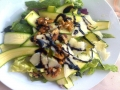 insalata di carpaccio di zucchine con noci e pecorino