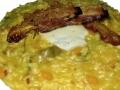 risotto-alla-zucca-bacon croccante-e-scamorza